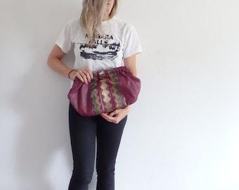 Vintage Leather Bag 1980s