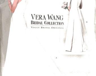 Vogue 2118, Vera Wang Designer Wedding Dress Sewing Pattern, 12-14-16