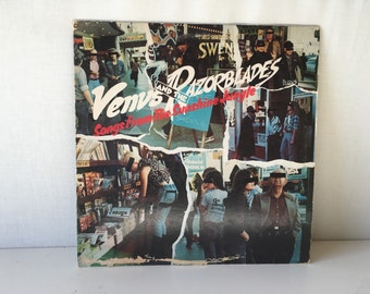 Venus and the Razorblades Songs From the Sunshine Jungle Rare LP Vinyl Record Album Punk 1970s