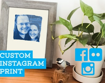 Custom Instagram Photo Print, Custom Print, Instagram Art
