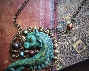The Seahorse Necklace of Atlantis