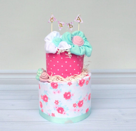 Shabby Chic Baby Shower, Shabby Chic Diaper Cake, Floral Baby Shower, Floral Diaper Cake, Girl Baby Shower Decor, Girl Shower Centerpieces