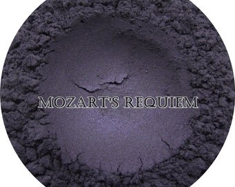 Loose Mineral Eyeshadow-Mozart's Requiem