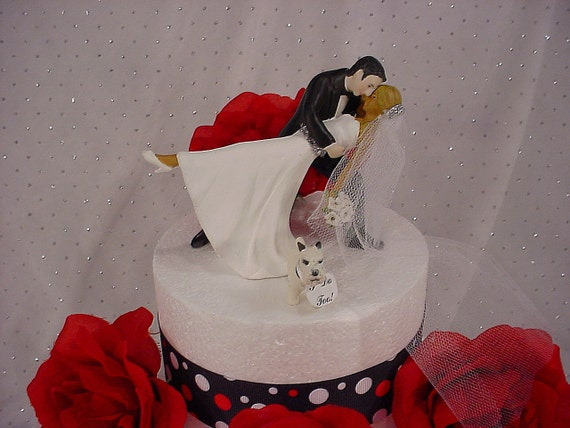 wedding cake topper groom dipping bride a dip and groom wedding cake topper 26328