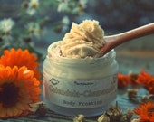 Organic Calendula Chamomile Body Frosting Vegan Natural with Shea butter and Coconut oil