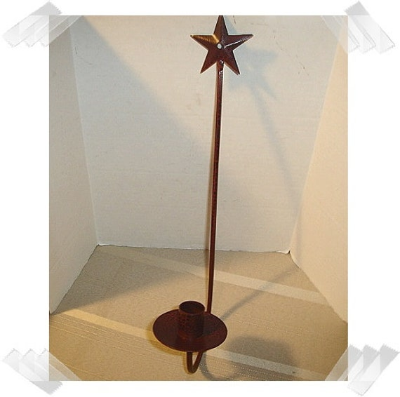 Star Wall Sconce with Crackling Finish /Metal/Home
