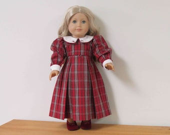 "Beautiful Vintage Strasburg Dress for American Girl Dolls or 18"" Dolls with Similar Bodies."
