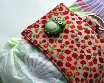 Diaper and Wipes Strap ~ Portable Clasp for Diaper Accessories ~ Baby Stroller Accessory ~ Mama's Purse Item ~ Handy Strap for Baby
