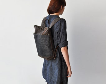 DAY PACK - dark oak/veld