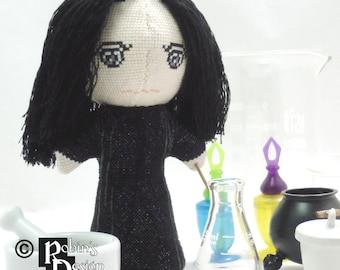 Severus Snape Doll 3D Cross Stitch Sewing Pattern PDF