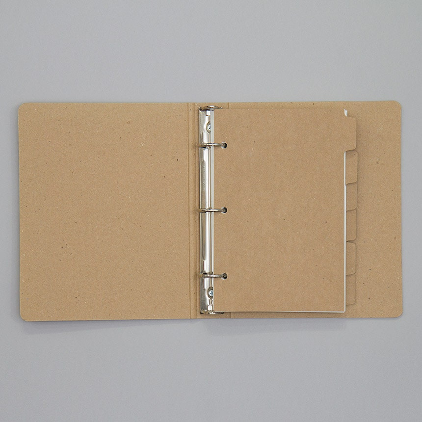 6-tab Dividers For Mini Binder By REDSTARink On Etsy
