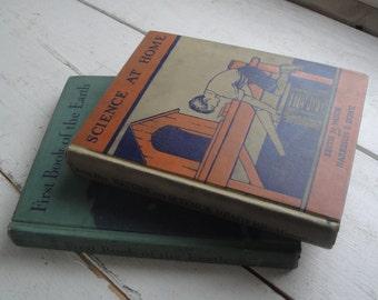 Vintage School Science Books