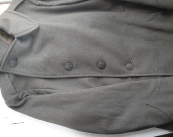 WWII Marine Uniform Pea Coat Wool Small