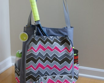 Large Tennis Bag and Accessory Bag.