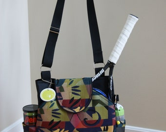 Little Sister Bag to Large Tennis Bag with Rounded pockets. Made to Order !