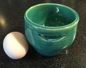 ceramic egg separator-aquamarine