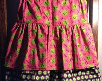 Girls ruffle skirt