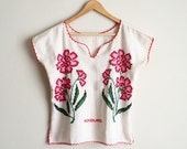 vintage embroiderd top