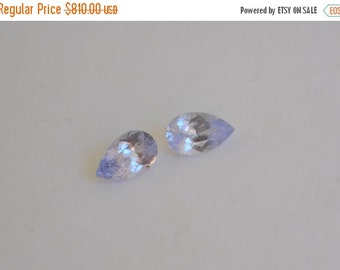 SALE Lavender Spinel from Vietnam Matched Pair Pear