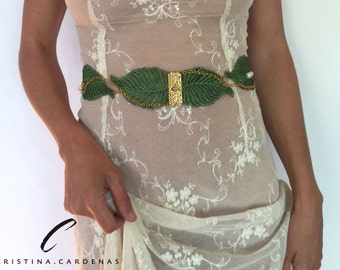 colored wedding belt