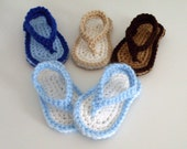 Baby Boy Sandals, Thong Sandals, Summer Shoes, Toddler Sandals, Crochet Booties