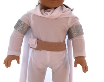 Queen Padmé Amidala Costume sized to fit American Girl or Other 18 Inch Dolls