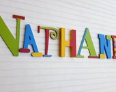 Kids Name Letters - Mixed Font Letters - Fun Wall Letters - Nursery Letters - Baby Name Letters