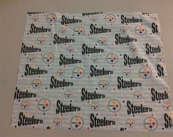 Pittsburgh Steelers fabric white 245538