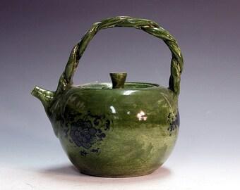 Handmade teapots tea service unique antiqued porcelain teapots porcelain teapots.
