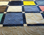 """Reserved for Teri P - T-Shirt Quilts Custom Lap Size 58"""" x 72"""" (15 T-Shirts) - BALANCE LISTING (50%)"""