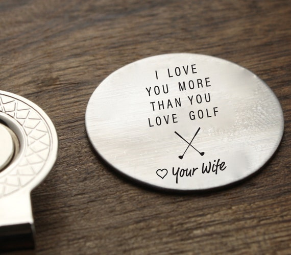 I Love You More Than You Love Golf Golf Ball By