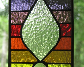 Stained Glass Spectrum Panel