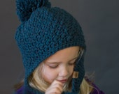 Crochet PATTERN Cumberland Ski Crochet Hat Pattern Includes Sizing for Baby, Toddler, Child and Adults