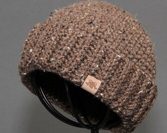 Crochet PATTERN Fishermans Cap Crochet Hat Pattern Includes 5 Sizes Newborn to Adult