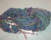 Handspun Wool Yarn - Merino Fiber - Mermaid Pool - 70 Yards