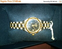 Watch-Ladies Pulsar 2 tone-Gorg  --20% off Jewelry SALE -- FREE Shippping