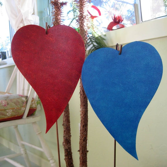 Valentines Day Hearts Yard Signs Decorations Stakes