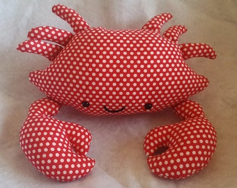 Stuffed Crab Plushie