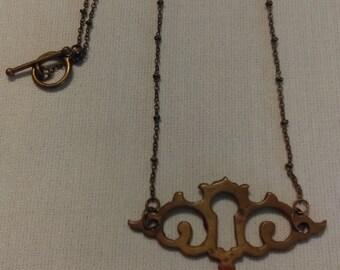 Escutcheon Necklace #1