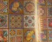 additional 5 yards giftwrap Golden Mosaic