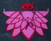 New Sizes added! Kids & Adult Cape Wings and Mask - Different sizes available - Owlette Costume
