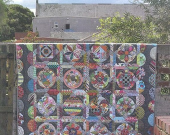 The Circle Game Jen Kingwell Designs Quilt Pattern Booklet