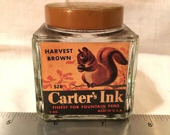 Carter's Ink Harvest Brown