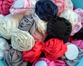 CLEARANCE ~ Grab Bag Rolled Silk Flowers