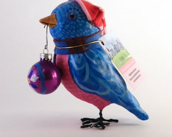Holiday Blue Bird