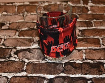 Walking Dead Glass/Large Can Cozy