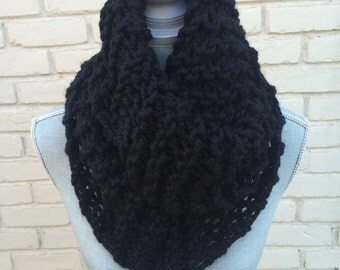Black Oversized Cowl
