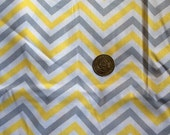 Sale Christmas in JULY Nursing Cover with POCKETS Yellow and grey chevron Great price