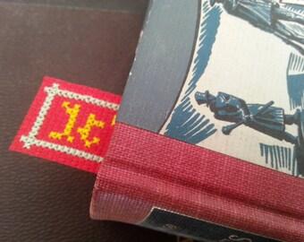 Dirty Cross Stitch Bookmark