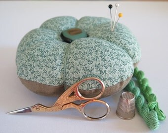 Large Pincushion with Glass Button